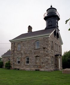 Old Field Point Lighthouse, New York- Very pretty lighthouse. The lighthouse itself is not open to the public, but the grounds are, so we could walk all around it and take pictures.
