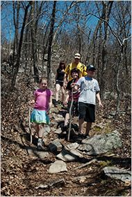 New Jersey Trails for Family Weekend Hikes - NYTimes.com