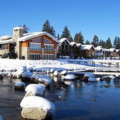 12 cozy winter lodges | Shore Lodge, McCall, ID | Sunset.com