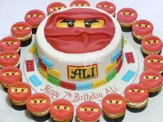 Ninjago Cake and Cupcakes
