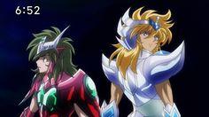 Hyoga y Shun