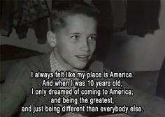"""Arnold Schwarzenegger quote from """"Pumping Iron"""" Meeeeeee!!!!!!!!!!!!!!"""