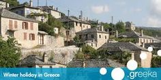 Αποτέλεσμα εικόνας για greece winter Greece Holiday, Winter Holidays, Mansions, House Styles, Fancy Houses, Mansion, Manor Houses, Winter Vacations, Mansion Houses