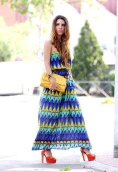 Maxi vestidos estampados de moda verano 2013  http://vestidoparafiesta.com/maxi-vestidos-estampados-de-moda-verano-2013/
