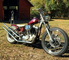 1974 ironhead chopper by Dave Johnson and Steve Lanier in Clearwater Florida