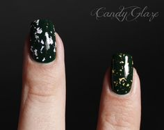 Candy Glaze: DIY Gold and Silver Leaf Top Coats