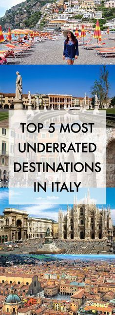 Italy Travel Inspiration - History In High Heels: Top Five Most Underrated Destinations in Italy Cinque Terre, Places To Travel, Travel Destinations, Places To Visit, Italy Vacation, Vacation Spots, Italy Trip, Italy Italy, Vacation Packages