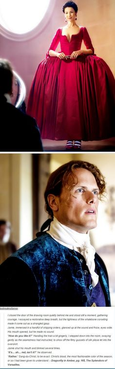 Jamie and Claire, Dragonfly In Amber, 2x01 Not In Scotland Anymore