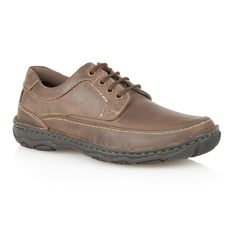 Lotus Princeton Lace Up Casual Oxford Shoes, Brown
