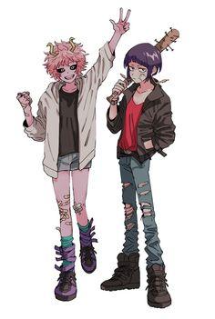 Ashido Mina & Jirou Kyouka
