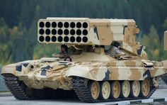 The most powerful non-nuclear weapon in Russia's arsenal, the TOS-1 multiple…