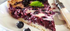 Helppo mustikkapiirakka | Makeat leivonnaiset | Reseptit – K-Ruoka New Recipes, Recipies, Blueberry, Steak, Food And Drink, Menu, Gluten Free, Baking, Breakfast