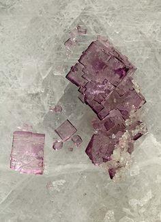 Fluorite on Celestine, RonWolf