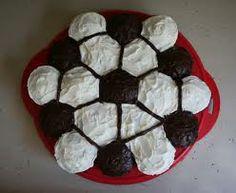 soccer ball cupcake cake - Google Search