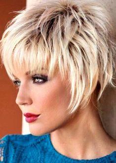 - # Frisuren - New Ideas - Short Hair Cuts For Women - Short Thin Hair, Short Hair With Layers, Short Hair Cuts For Women, Choppy Short Hair Cuts, Short Asymmetrical Haircut, Messy Pixie Cuts, Shaggy Short Hair, Short Shaggy Haircuts, Short Grey Hair