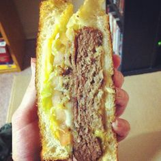 Photo by bawkalisamarie - Grilled Cheese Burger #ojsmenu #yum