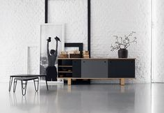 CASSINA. Love the sideboard + styling