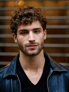 Image result for mens curly hairstyles