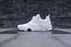 "Split lace origin. Strong. - PUMA 2014 Winter Trinomic ""Marble"" Pack"