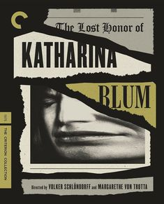 The Lost Honor of Katharina Blum Italian Neorealism, Songs Of Innocence, Norman Mailer, The Criterion Collection, Twitter, Picture Movie, Retro Logos, Great Films, Irish Men