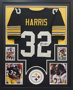 a7946e8f2c6 Franco Harris Framed Jersey Signed JSA COA Autographed Pittsburgh Steelers  at Amazon's Sports Collectibles Store