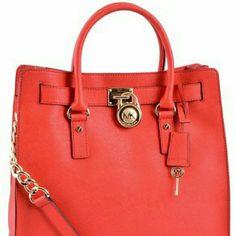 56105538e08c Handbag MICHAEL KORS Michael Hamilton Saffiano N s Large Tote Shoulder Bag  Michael Kors Bags