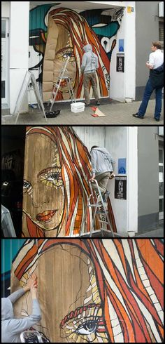 El Bocho, Recent Work in Germany - unurth | street art