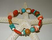 Sea Shells Beach Bracelet by Nancy Yuskaitis