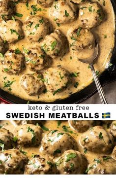 This Gluten Free & Keto Swedish Meatballs is highly delectation. ~ Please click pin to learn more ~ Keto Dinner Recipes Healthy Diet Recipes, Cooking Recipes, Keto Snacks, Ketogenic Recipes, Keto Diet Meals, Ultra Low Carb Recipes, Keto Meals Easy, Sugar Free Recipes Dinner, Carb Free Meals