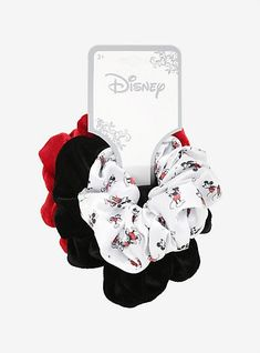 Shop for the latest mickey and minnie, pop culture merchandise, gifts & collectibles at Hot Topic! From mickey and minnie to tees, figures & more, Hot Topic is your one-stop-shop for must-have music & pop culture-inspired merch. Diy Hair Scrunchies, How To Make Scrunchies, Cute Disney Outfits, Disney Hair, Accesorios Casual, Disney Merchandise, Disney Shirts, Disney Mickey Mouse, Disney Style