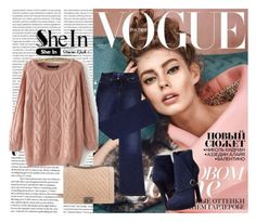 """""""sheln"""" by sabinasalkic ❤ liked on Polyvore featuring Oris, ESCADA, Chanel and Alexander McQueen"""