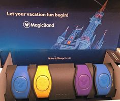 We just got back from a weekend visit to Walt Disney World and now we're headed back next month! We got this box in the mail on Feb. 9, 2017, and it's our bands for the trip. We all have passes and we'll be staying for a long weekend at Disney's Port Orleans Resort – Riverside, where we stayed last summer.