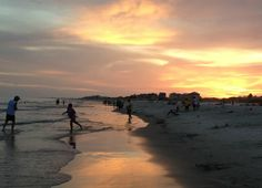 What a way to end a day. #BeachSunsets #GulfShoresPlantation #FamilyVacation