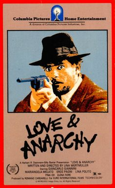 Lina Wertmuller's LOVE AND ANARCHY streams on Amazon Prime but not on Netflix #linawertmuller #amazonprime