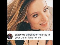 | 5SOS LUKE HEMMINGS GIRLFRIEND ARZAYLEA CLASHES WITH BELLA THORNE! | http://www.boybands.co.uk
