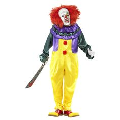 #Horrorclown-Kostüm, #Halloweenclown