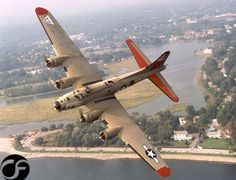 B-17 in hard bank