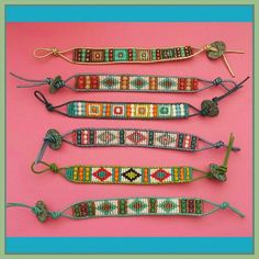 Bracelets Chan style luu made with loom Loom Bracelet Patterns, Bead Loom Bracelets, Bead Loom Patterns, Friendship Bracelet Patterns, Bead Loom Designs, Native Beading Patterns, Quick And Easy Crafts, Paper Crafts For Kids, Loom Beading