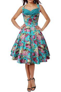 c04a271f268b70 Details about BlackButterfly  Aura  Classic Divinity 50 s Vintage Rockabilly  Swing Dress