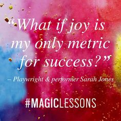"""8,478 Likes, 199 Comments - Elizabeth Gilbert (@elizabeth_gilbert_writer) on Instagram: """"First episode of Season Two of my MAGIC LESSONS podcast is live! Click the link in my profile to…"""""""
