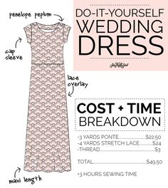DIY wedding dress | See Kate Sew