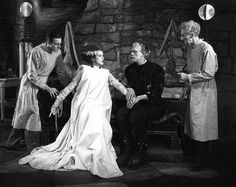154. Bride of Frankenstein (1935, dir. Whale)  Rating: B+  Finished: May 1, 2013