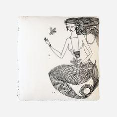 Sinking Flower Cushion | Ahoy Trader by Jai Vasicek from Salt Living  #ahoytrader