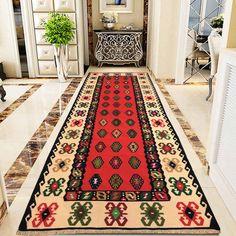 Floor Rugs, Rug Runner, Table Cloth, Kilim, Wool Runners, Rugs, Vintage Turkish Kilim, Vintage, Floor Mats