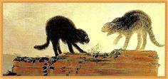 Il gatto nella storia dell'arte (Gatti che litigano, Francisco Goya)
