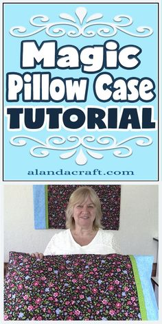 These Magic pillowcases look great. Our free tutorial shows you just how easy they are to make. You can make them pretty or make them funky and even make them to match a quilt cover for an overall great look. These magic pillowcases are also know as Burrito pillow cases or roll up pillowcases. The finish is very professional looking.