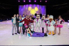 Did I ever tell you about the time I got to skate with the cast of Disney on Ice?