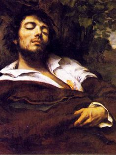 Gustave Courbet - Wounded Man, Self Portrait