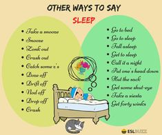 Ways to Say: I'm Going to Sleep 1/2