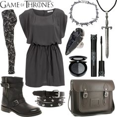 """GOT - Arya Stark"" by alayaya on Polyvore"